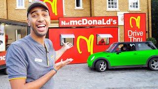 I Opened A FAKE McDonalds Drive Thru