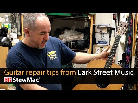 Guitar repair tips from Lark Street Music