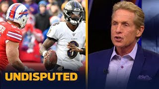 Download Skip Bayless on whether Lamar Jackson's average game against Bills hurts MVP odds | NFL | UNDISPUTED Mp3 and Videos