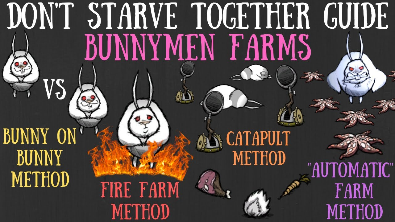 Download Don't Starve Together Guide: Bunnymen Farms - Various Methods