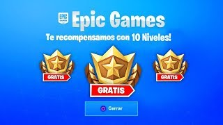 COMMENT À GET 10 FREE BATTLE PASS LEVELS NOW IN FORTNITE! 'BUG' (NIVEAU 100 RAPIDE)