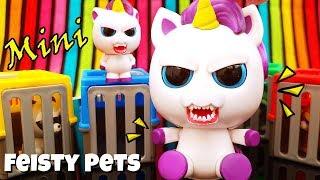 Small Feisty Pets Unicorn 🦄 Toys Suprises Glenda and the Tiny Mini Misfits Animals