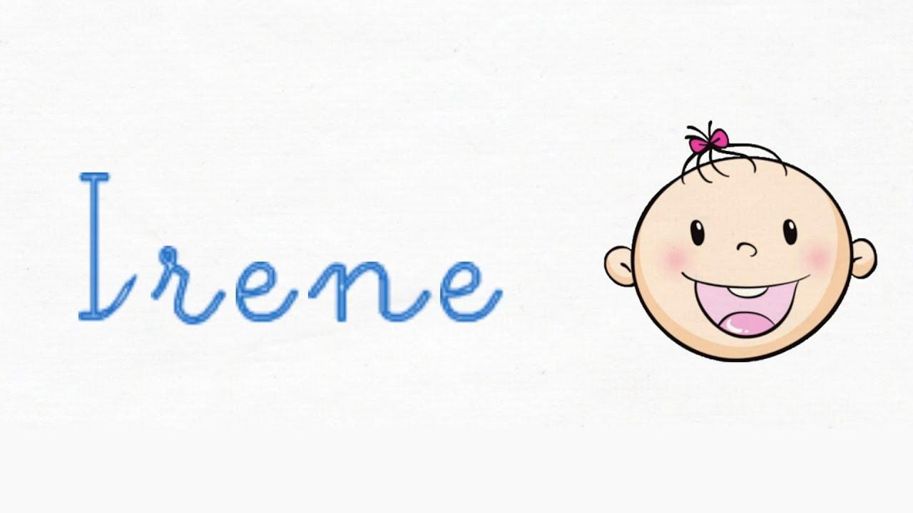 Significado de Irene - Nombres de niña