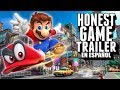Gambar cover SUPER MARIO ODYSSEY Honest Game Trailers en Español
