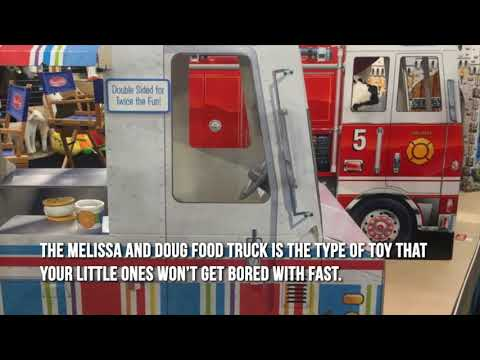 Melissa And Doug Food Truck Youtube