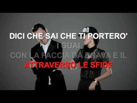 Baby K feat. Tiziano Ferro - Killer - Karaoke con testo