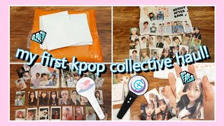 pulling my bias for the first time! 🔆 kpop collective haul #1 (seventeen, gfriend, weki meki)