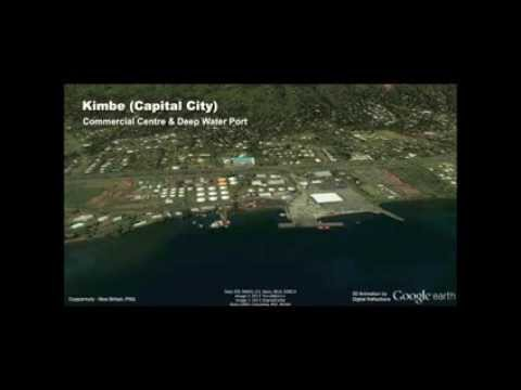 West New Britain 3D Fly Through