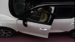 Uusi Volvo XC40 - langaton puhelimen lataus