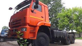 2017 КамАЗ-65225-43. Обзор (интерьер, экстерьер, двигатель).