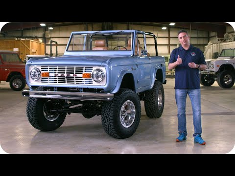 Gateway Bronco Gives Away A Restored Electric Bronco // Omaze
