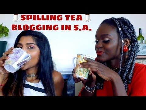 Ranting and Spilling the Tea on Blogging in South Africa ft Miss Dhanusha | South African YouTubers