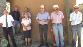 Inauguration du Four du Hameau de Blaron , commune de Castellane