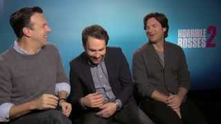 Horrible Bosses 2 - Exclusive Interview With Jennifer Aniston & Cast