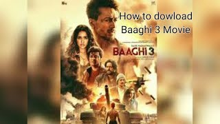 Download baghi 3 movies in one click /any new movie dowload in one click