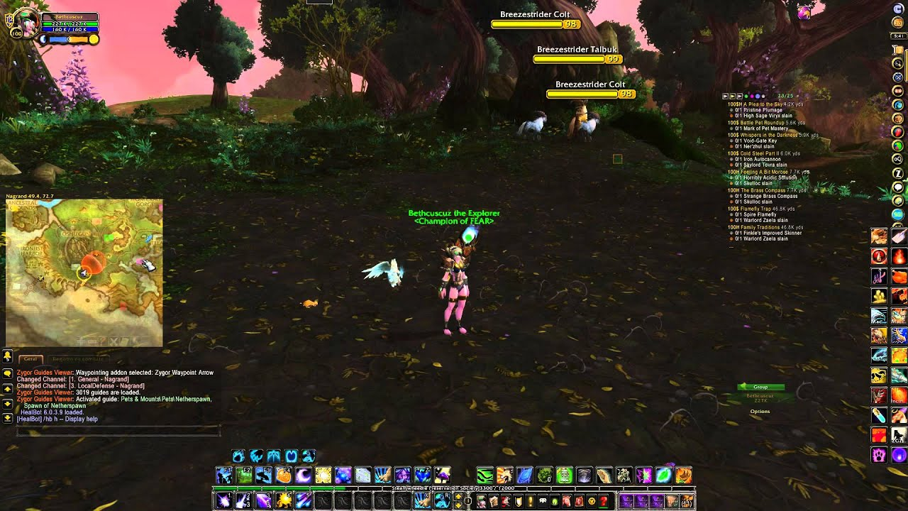 World Of Warcraft com Carbonite Addon