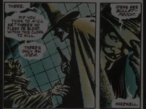 Textual Analysis: V For Vendetta