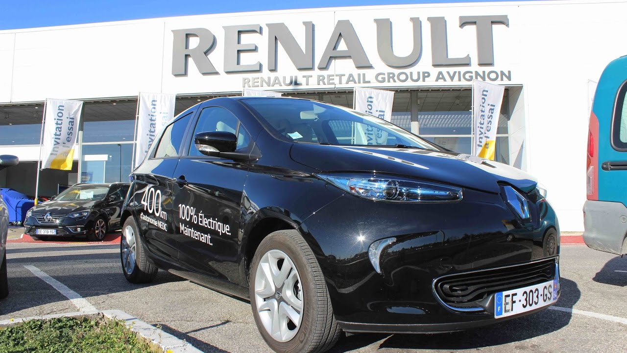 nouvelle renault zoe 2017 la citadine aux 400 km d 39 autonomie youtube. Black Bedroom Furniture Sets. Home Design Ideas