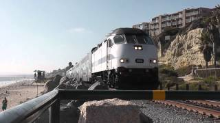 Metrolink Commuter Train - San Clemente, California