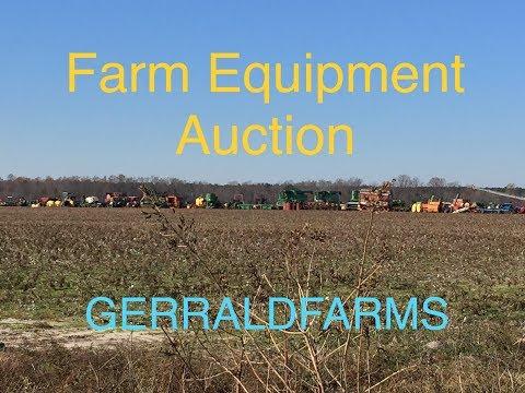 Farm Equipment Auction Sat Dec 1 GERRALDFARMS