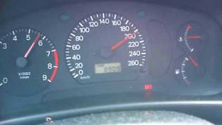 Mitsubishi EVO 6 top speed