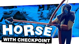 HORSE VS CHECKPOINT REMATCH AGAIN | TOTALLY ACCURATE BATTLE SIMULATOR