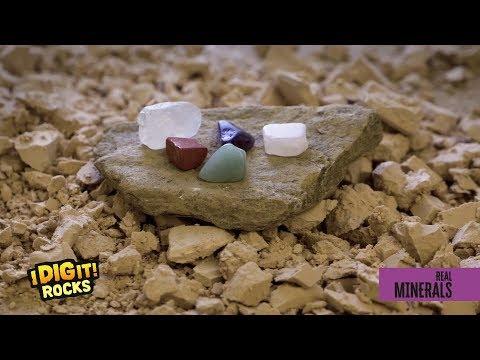 I Dig It! Rocks - Real Minerals