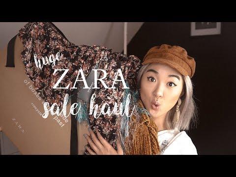 ZARA WINTER SALE HAUL + TRY ON: Sale Hack + What I Got