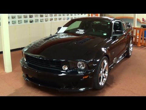 Supercharged 2008 Saleen S281 Mustang No 31