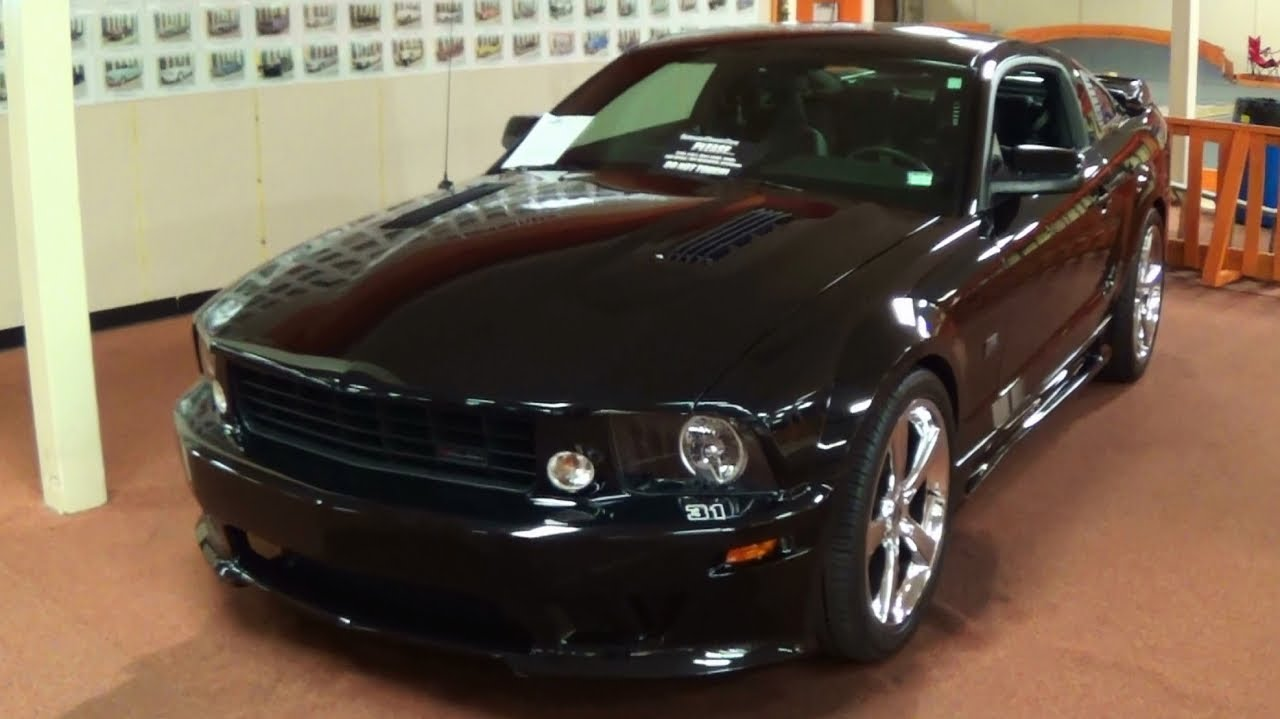 Supercharged 2008 Saleen S281 Mustang No 31 Youtube