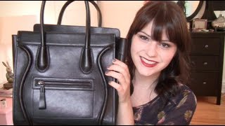 BAG Inc Review and Giveaway: Lana Leather Shoulder Bag Black Thumbnail