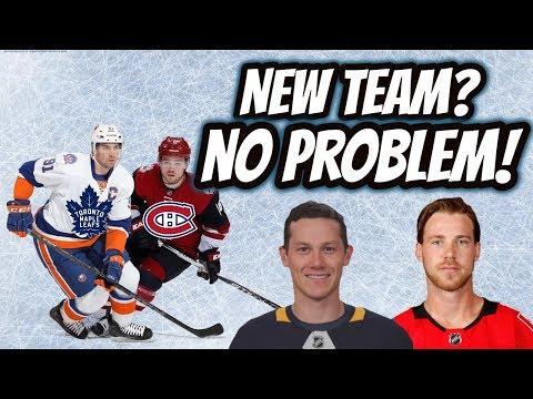 Top 5 Players on New NHL Teams! (2018 2019) | Auddie James