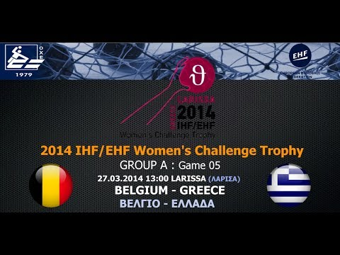 Live : Belgium - Greece 21-25 (27.03, 13:00) [Group A - Wome