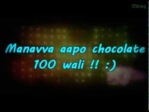 Why this Kolaveri  Gujarati Version 2011   Lyrics on ScreenFrom ErPravin Patel