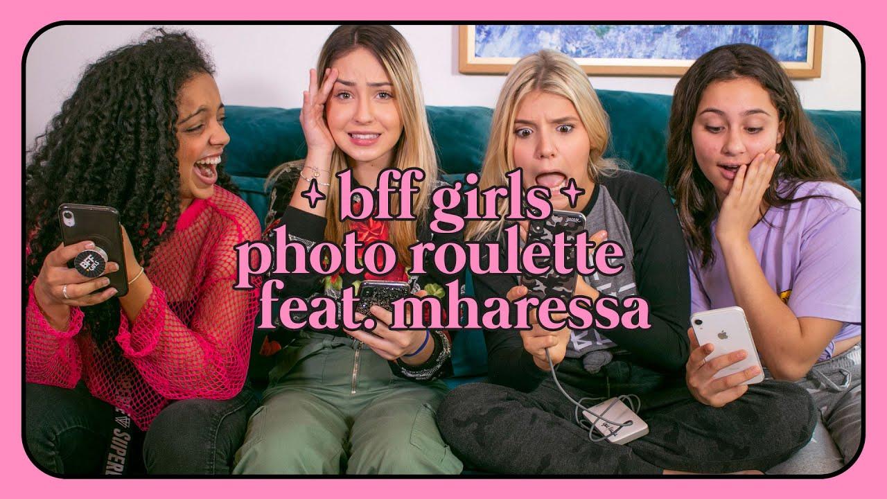 PHOTO ROULETTE feat. @Mharessa    BFF GIRLS