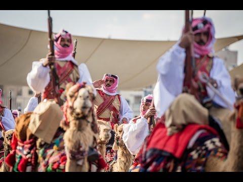استعراض العلم: تغطية الاحتفالات الرسمية لمئوية الثورة العربية  الكبرى