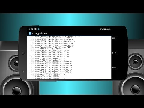 Android Sound Mod: Boost Speaker and Headphone Volume