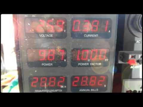 Nano Light Energy Panel (NLEP) Performance Aging Demo - Jul