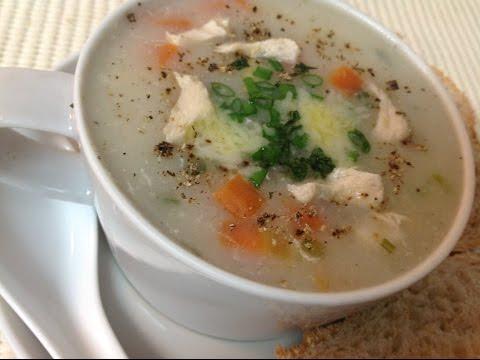 Easy Creamy Chicken Soup