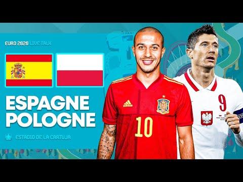 🔴🎥 Match Live/Direct : ESPAGNE - POLOGNE / 🇪🇸 Moreno vs 🇵🇱 Lewandowski / Groupe E | Euro 2020