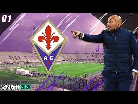Football Manager 2020 | FIORENTINA | #1 | PROGETTO AMBIZIOSO! | FM20