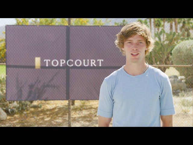 Andrey Rublev | ATP x TopCourt Tutorial