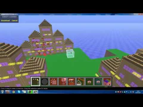 Casa lussuosa mcedit minecraft youtube for Casa lussuosa