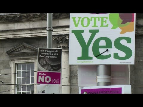 Pro-life campaigners hit the streets ahead of abortion vote