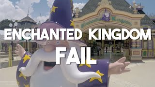 Enchanted Kingdom fail (Vlog 4 - Tagaytay in the Philippines)