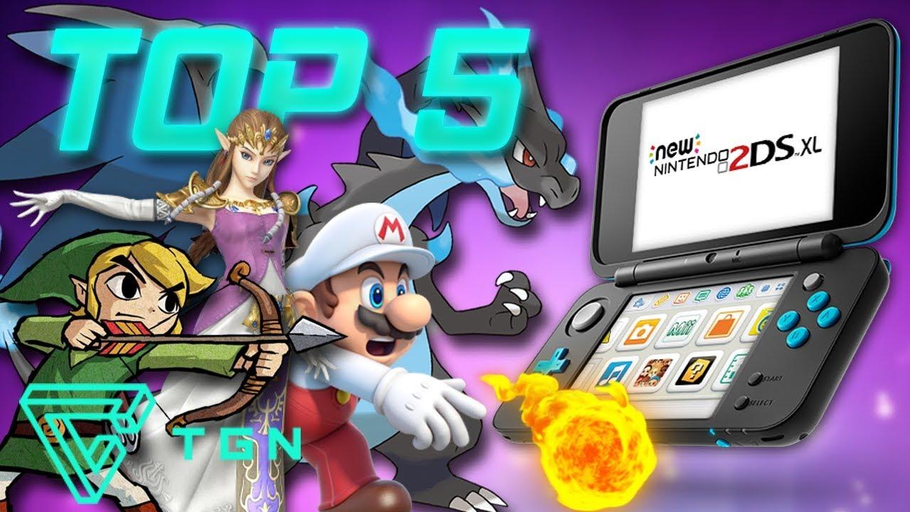 Top 5 Los Mejores Juegos Del Nintendo 3ds Youtube