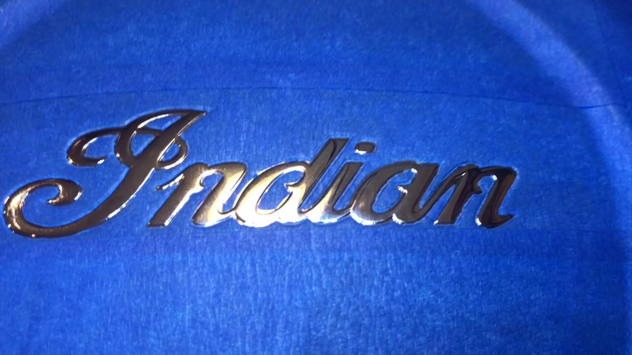 Thunderstroke 111 Stock Air Cleaner Indian Script Painting