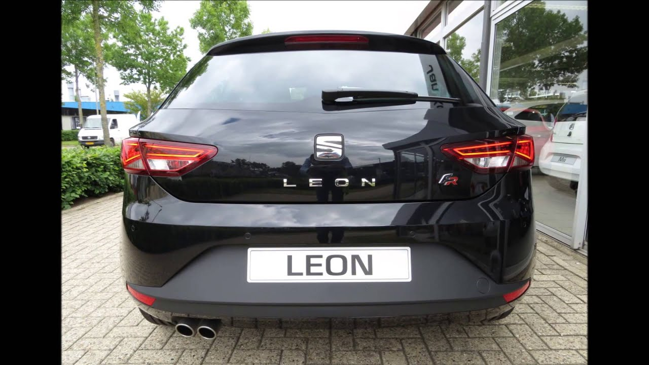 seat leon sc fr business 1 4tsi 140pk youtube. Black Bedroom Furniture Sets. Home Design Ideas