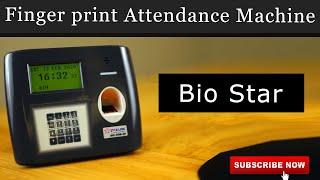 Biometric Attendance and Access Control System | Fingerprint Attendance | Bio-Star