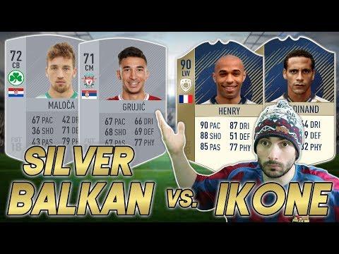 BALKAN PROTIV NAJVEĆIH IKONA U FIFI?! Balkanske Ikone #7 FIFA 18